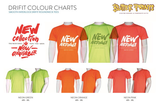 Smooth Drifit Roundneck T-shirts Neon Co