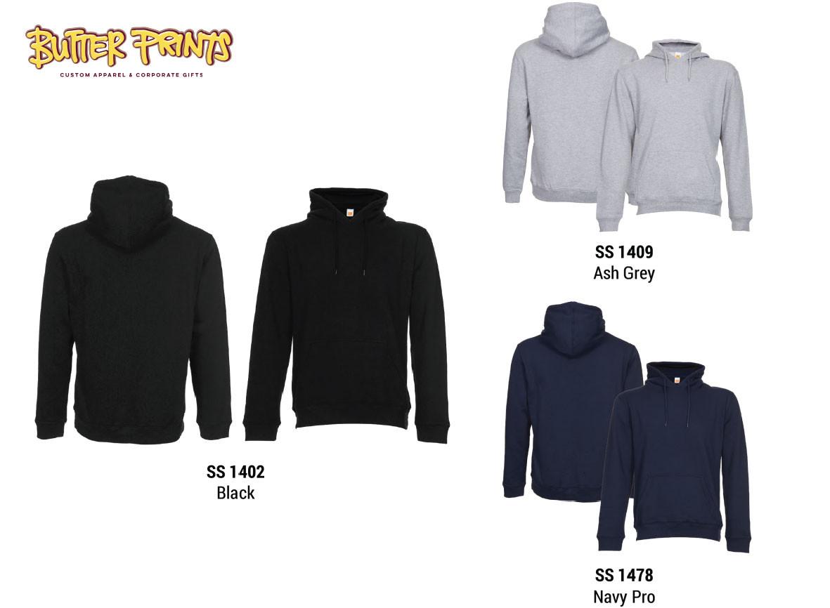 Sweatshirt Hoodie without Zip - Colors -