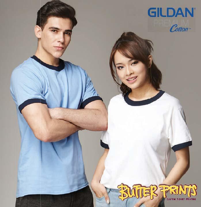 76600 Gildan Adult Ringer T-shirt