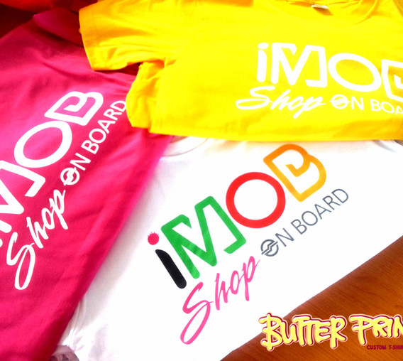 Customized T-shirts for IMOB SMRT - butterprints.com.sg.jpg
