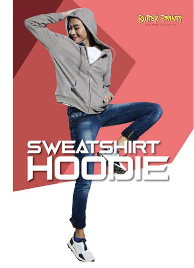 Sweatshirt Hoodie with Zip