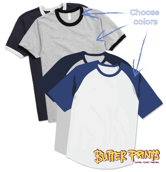 Fully Custom Cotton T-shirts