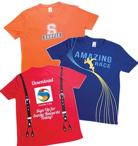 Smooth Interlock Drifit T-shirts (In-house) 150gsm