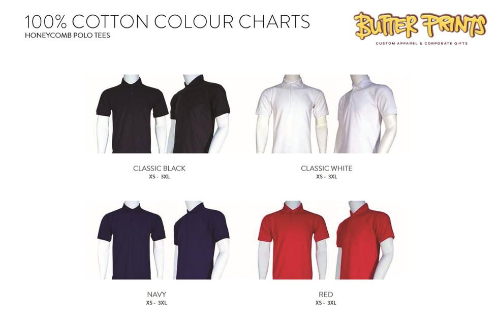Honeycomb Cotton Polo T-shirts.JPG