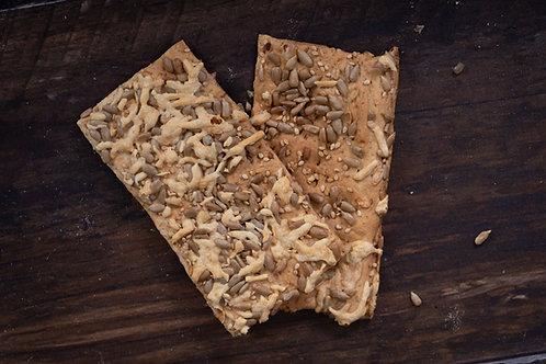 Crackers met kaas