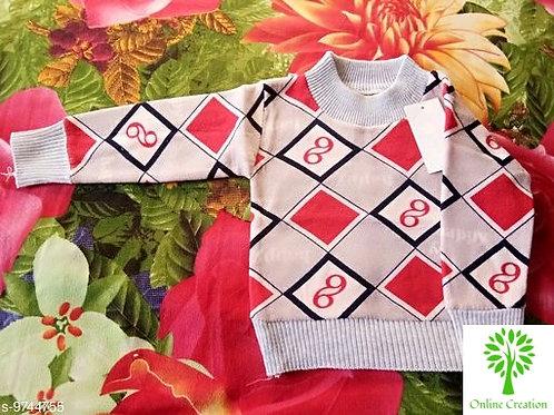 Cute Comfy Boys Sweaters