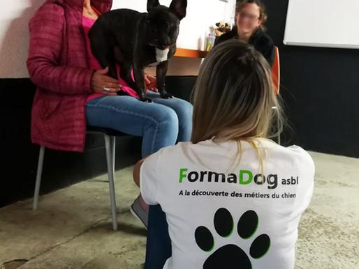 FormaDog asbl : nouveau partenaire pour le Dog Center