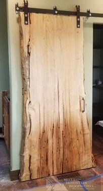 Live Edge Barn Door