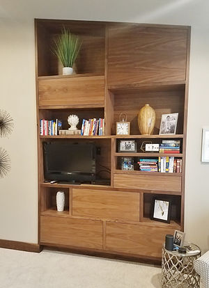 Mid Century Modern Entertainment Center