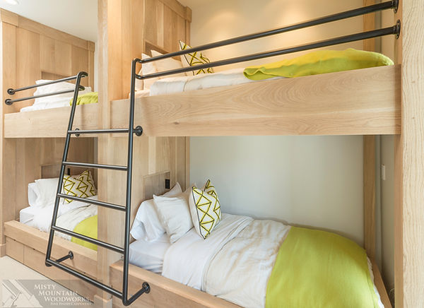 Custom Double Bunks by Misty Montain Woodworks Inc.