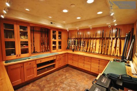 Custom Gun Room