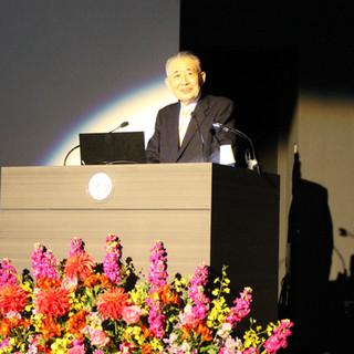 街道交流会を主催した東海道町民生活歴史館館長の 志田威氏