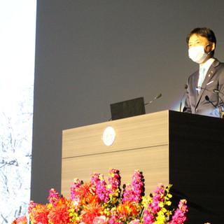 中野正康愛知県一宮市長が登壇されました