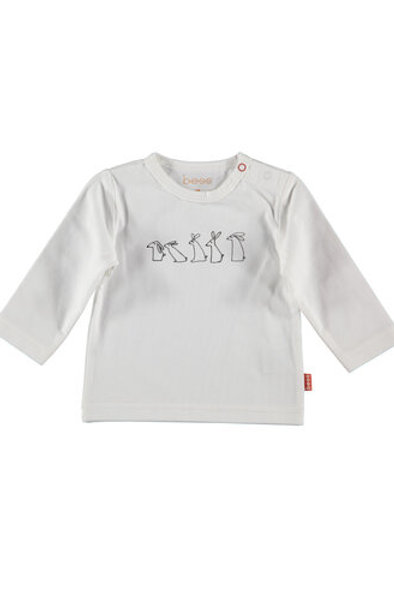 White Tshirt Rabbit