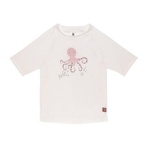 UV Zwemshirt voor baby's - Longsleeve - inktvis- Wit