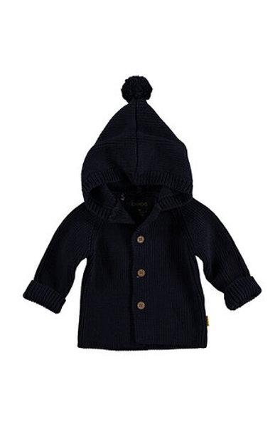 Cardigan Knitted Hood