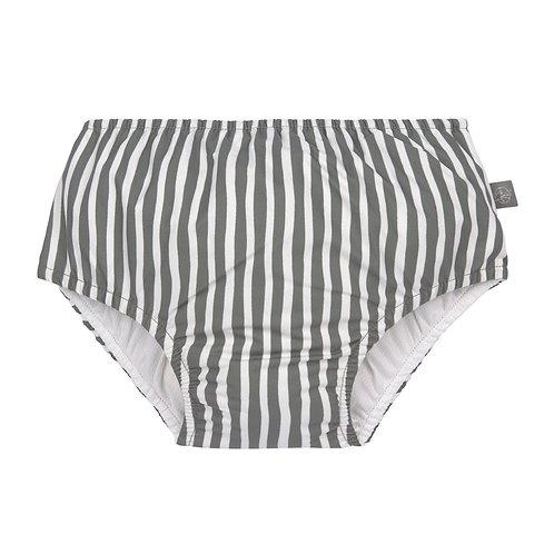 Zwemluier grijs/oilive gestreept