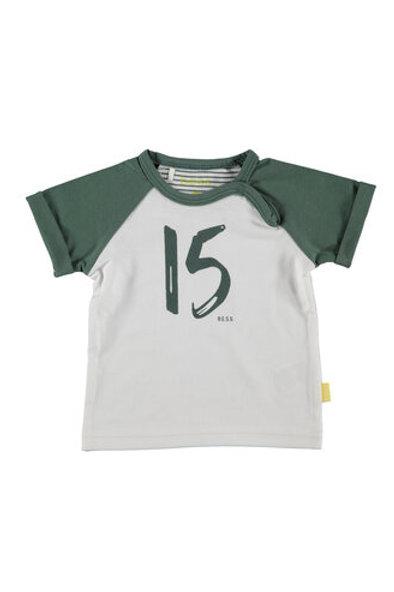 Wit / Groen Tshirt