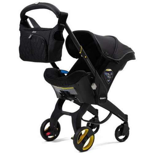 Doona Special Edition Just Black Autostoel en Travelsysteem
