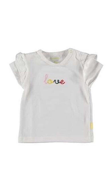 Wit T-shirt Love