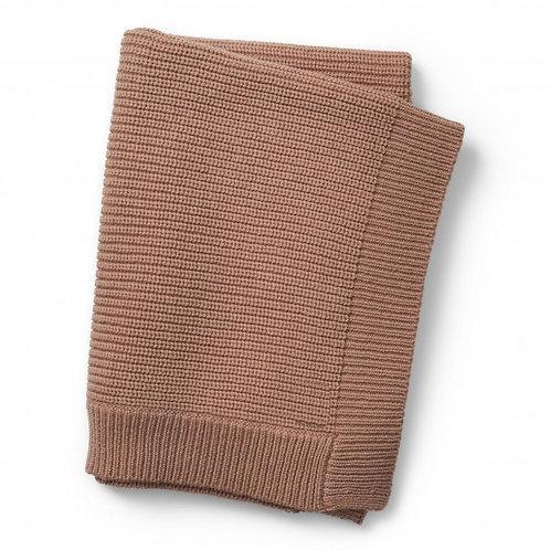 Gebreid deken wol
