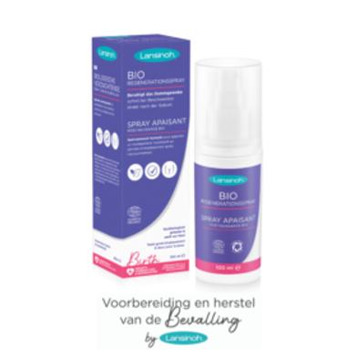 Biologische verzachtende spray (perineum)