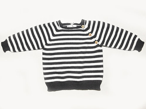 Petit oh Knitted Leo sweater