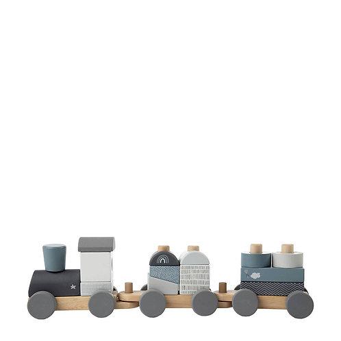 Leuke houten trein