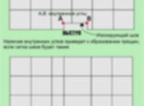 Схема устройства изолирующего шва