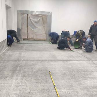 Подготовка бетонного пола к нанесению полимерного покрытия