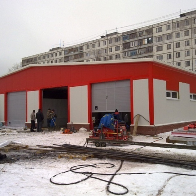 Поготовка к началу работ на автомойке в Нижнем Новгороде