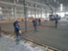 Заливка и уладка на пол бетона специалистами компании СК Партнер
