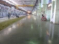 Затирка бетонного пола