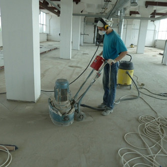 Обработка бетонной стяжки