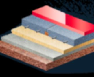 Многослойный бетонный пол
