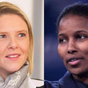 Verden trenger flere modige kvinner som Hirsi Ali og Listhaug!