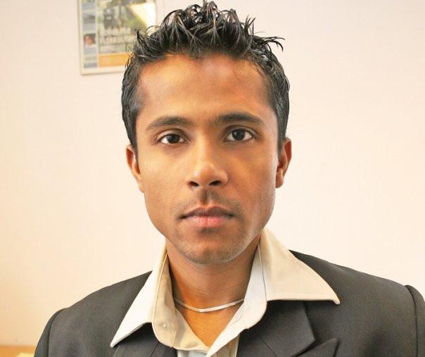 Majoran Vivekananthan/ redaktøren i Utrop