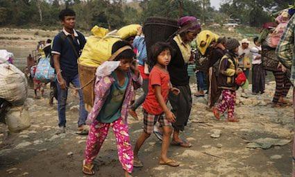 Kachin in pericolo da anni