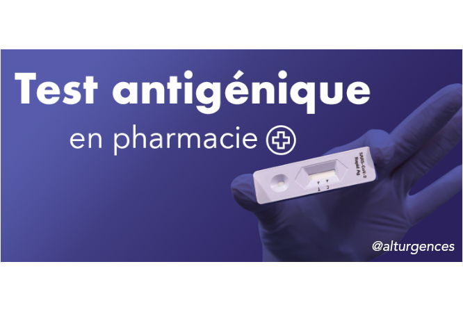 Informations pratiques pharmaciens pour les test antigéniques en pharmacie