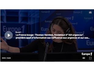 Thomas VERNHES sur Europe 1 / La France Bouge