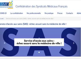 La CSMF appelle le Gouvernement à revoir sa copie pour le SAS