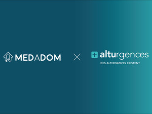 ALTUrgences et MEDADOM établissent un partenariat.