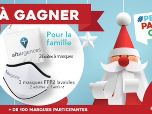 Pour la deuxième année Alturgences participe à la hotte de Noël #PetitsPapasCM