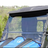 HS-500/700 Two-Piece Windshield w/Vents & Hard Coat