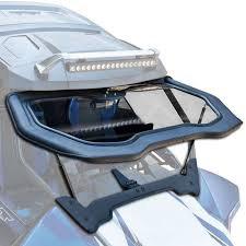Wildcat X Full Glass Flip-Up Windshield