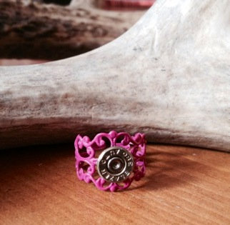.380mm Pink ring with primer