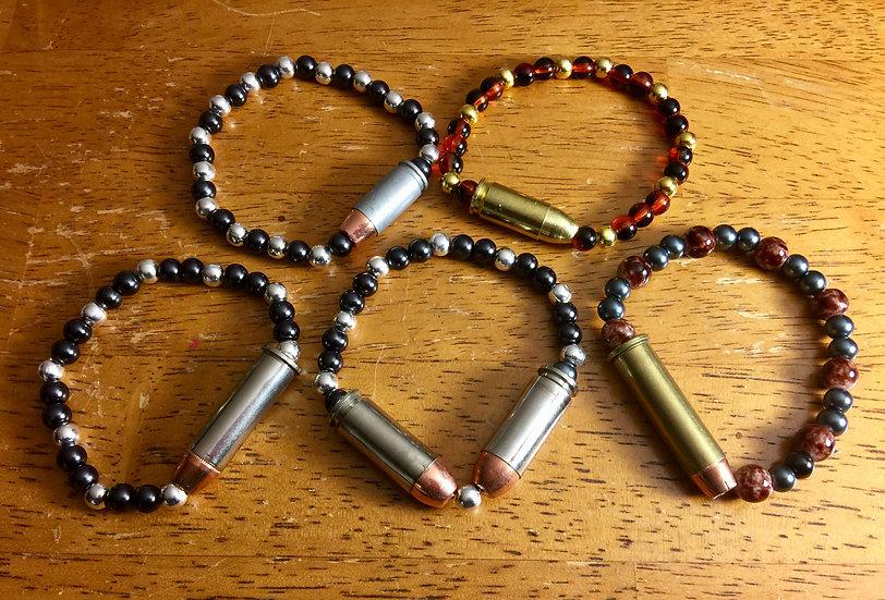 Beaded Bullet Bracelet