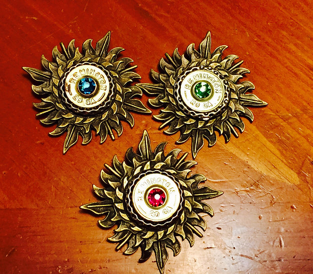 Starburst Shotgun Necklace