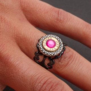 Nosler .223 Ring with Pink Swarovski