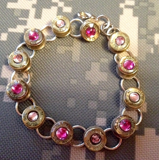 .380 Bracelet in Pink and Purple